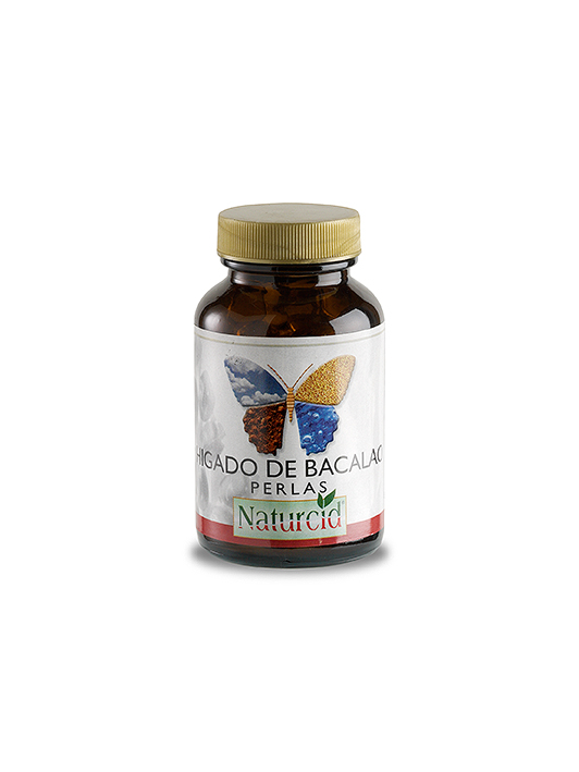 Hígado de bacalao Naturcid 100 perlas